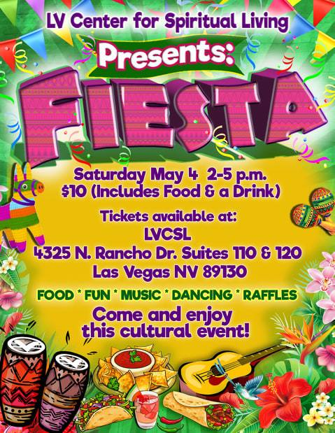 Fiesta  Saturday May 4th