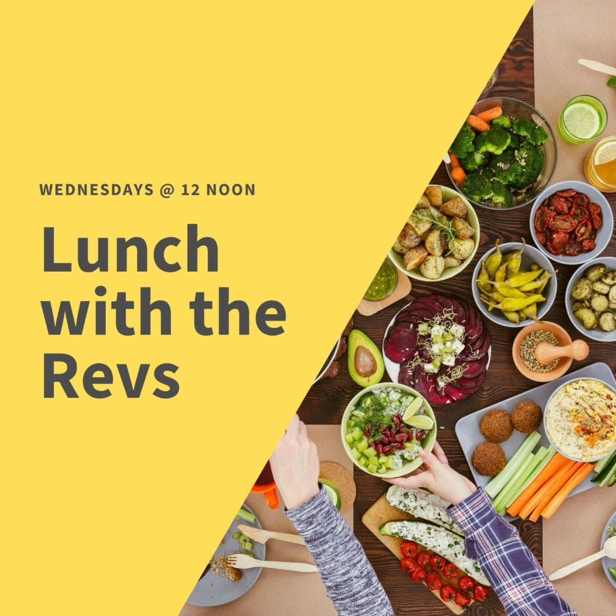 lunch with the revs